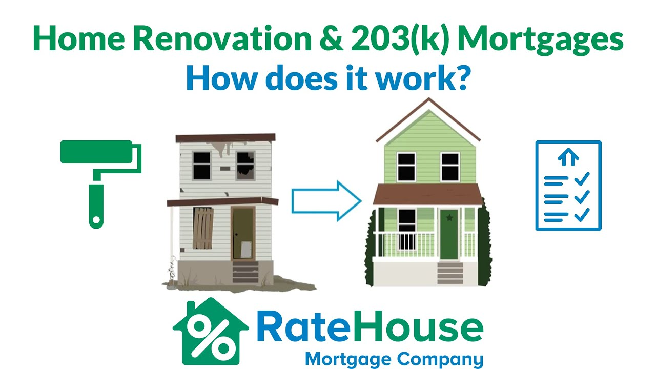 youtube home renovation 203k mortgages 1